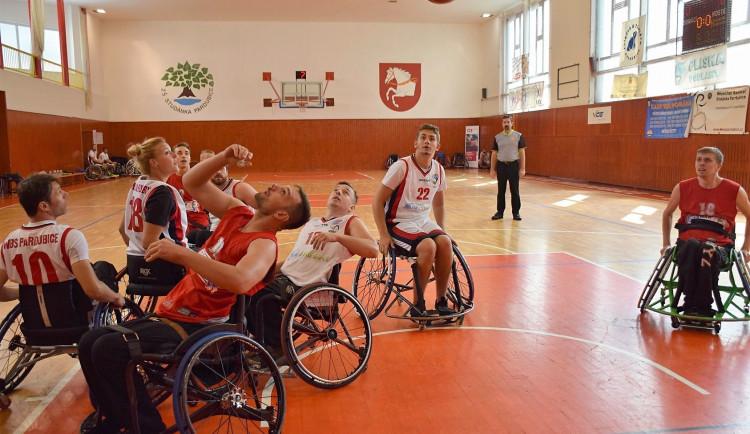 Tým basketbalu na vozíku Tigers České Budějovice