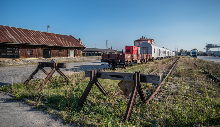 Protidrogový vlak v Budějcích