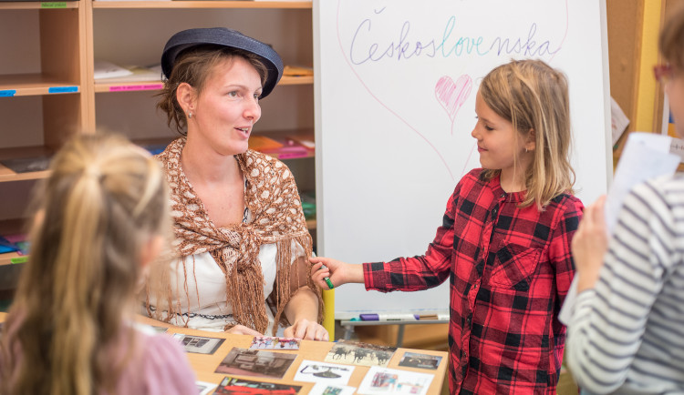 Projektový den v Montessori k výročí republiky