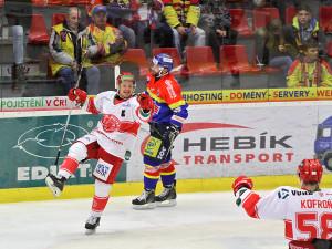 Rostislava Martynka si českobudějovičtí fanoušci dobře pamatují z jeho působení v dresu ještě tehdy extraligových Jihočechů. Duel s Frýdkem-Místkem tento zkušený útočník ve 49. minutě rozhodl