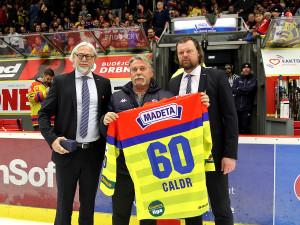 Vladimír Caldr, jedna z ikon českobudějovického hokeje, oslavil nedávno 60. narozeniny