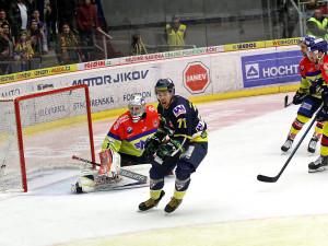 Autor rozhodující branky zápasu a zároveň ústecký kapitán Daniel Vrdlovec