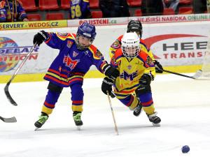 O první pauze se na ledě proháněly naděje českobudějovického hokeje