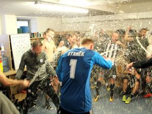 Dynamo porazilo Chrudim a slaví návrat do nejvyšší soutěže