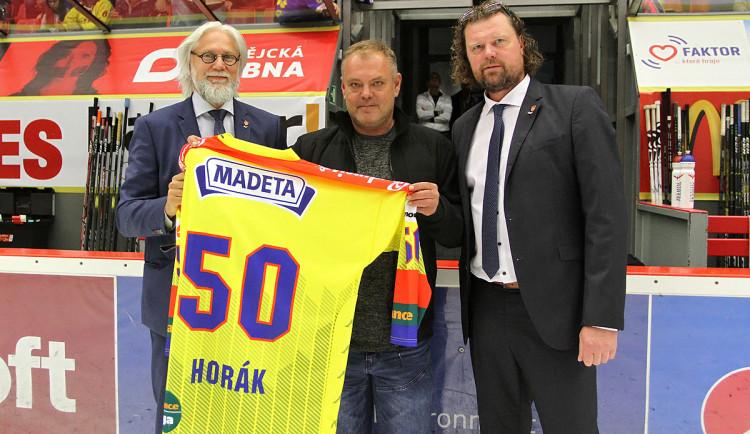 Padesáté narozeniny oslavil v tomto týdnu bývalý útočník Motoru Roman Horák
