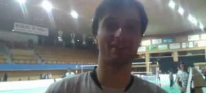 Smečař Tomáš Fila po vítězném duelu Ligy mistrů s Innsbruckem