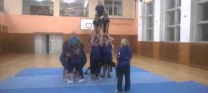 Trénink Sharks Cheerleaders Ledenice