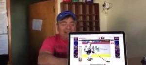 Argentinský hokejový fanoušek přeje Jardovi Jágrovi k narozeninám