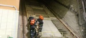 Taktické cvičení ve vodní elektrárně Lipno