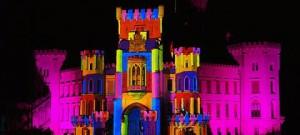 VIDEOMAPPING KOH-I-NOOR We Paint The World 225 - Hluboká nad Vltavou