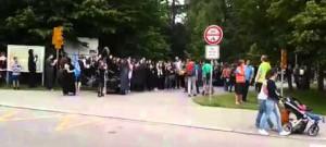 Studenti se chystají na průvod k Budějovickému Majálesu 2015