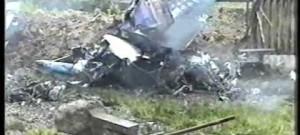 Pád stíhaček MIG 21 na sídliště Vltava v Č. Budějovicích