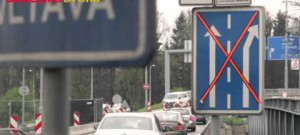 Oprava Litvínovického mostu - první všední den
