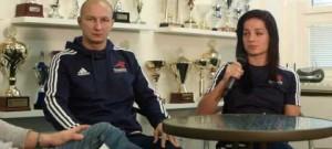 Drbárna – Miroslav Hýsek a Lucie Veithová (TJ Karate)
